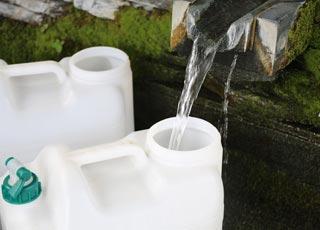 徳島の天然水